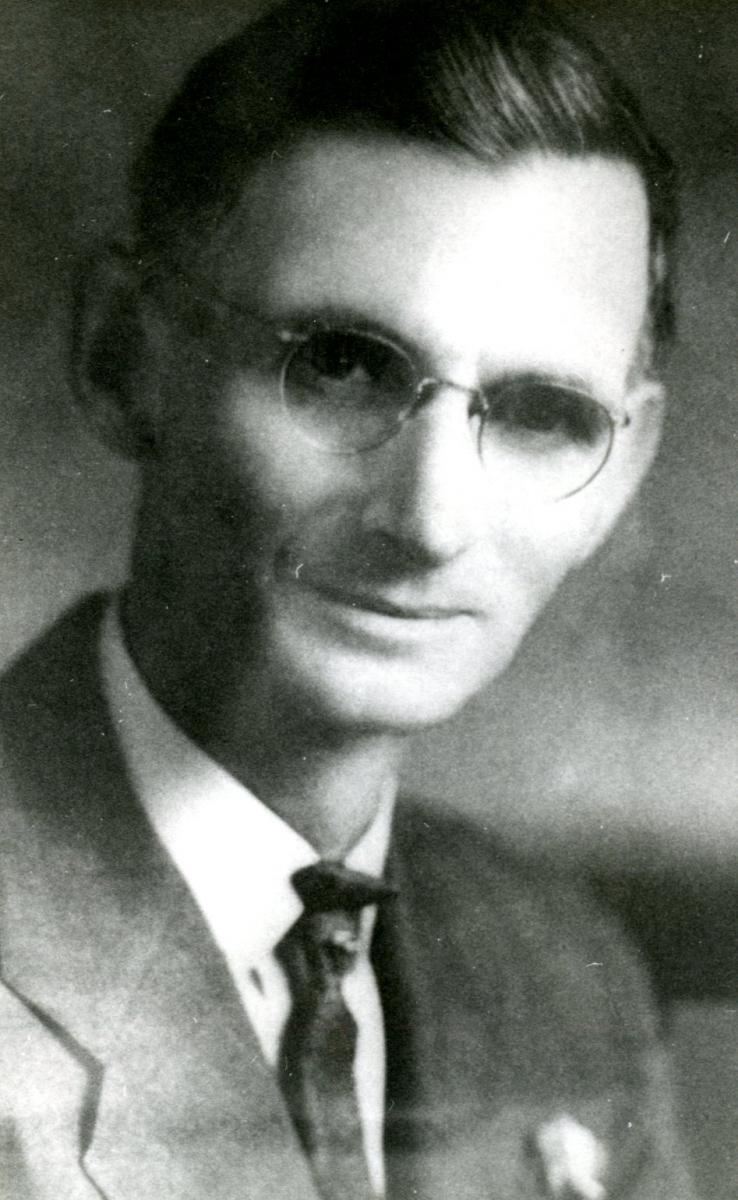 Photo of Jesse Peter circa 1935
